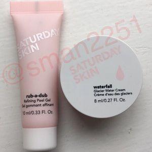 💖NEW💖Saturday Skin 2Pc Gel + Waterfall Cream NEW